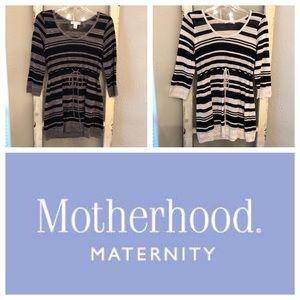 2 Motherhood Maternity Sweaters Size Small